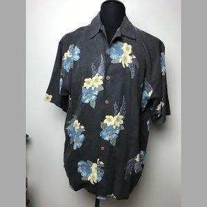 VINTAGE TOMMY BAHAMA SILK HAWAIIAN SHIRT Aloha